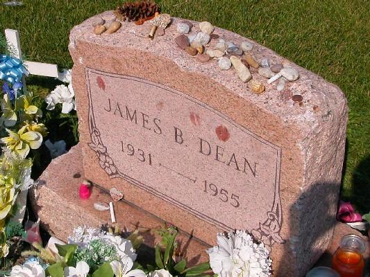 James Dean's Grave Marker
