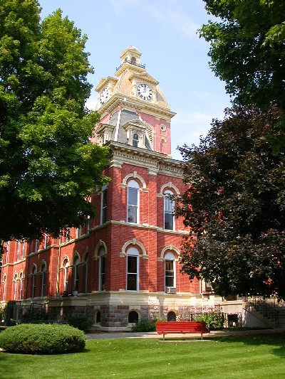 LaGrange County Courthouse, 1878