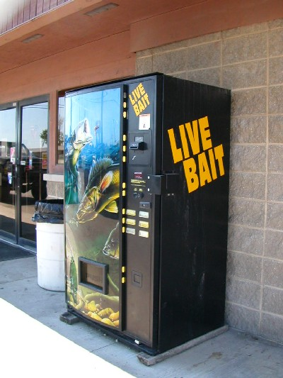 Live bait machine