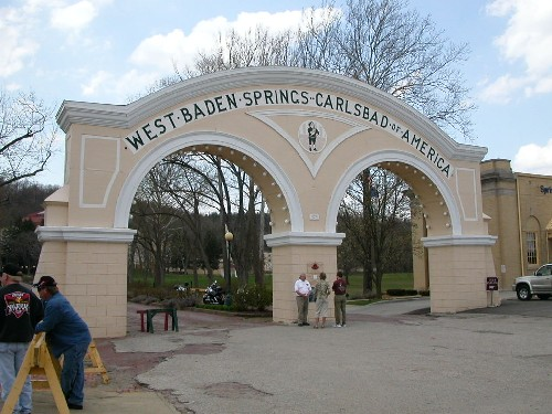 Entrance to West Baden Springs site